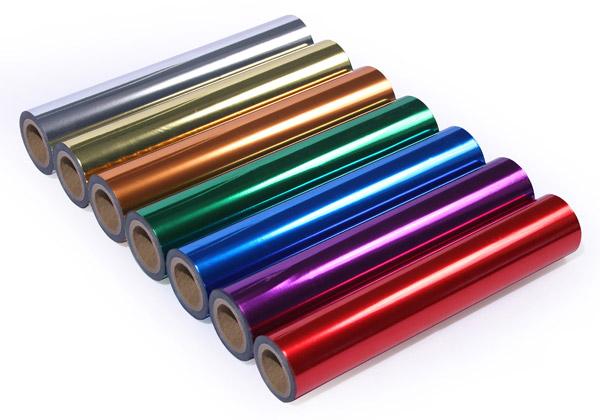 Folie dostępne są w wielu różnych kolorach.